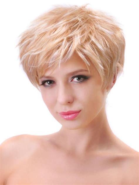 short haircuts  oval face  thin gray hair