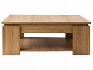 Conforama Table Basse : table basse eden coloris acacia fum chez conforama ~ Teatrodelosmanantiales.com Idées de Décoration