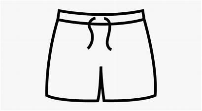 Pants Swimming Shorts Clip Clipart Trunk Cartoon
