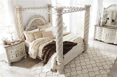 Bedroom Set By by Cassimore Canopy Bedroom Set Signature Design 3 Reviews