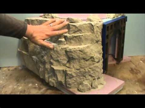 make rock how to make rock formation from urethane foam youtube