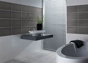 Carrelage Noir Salle De Bain : le carrelage salle de bain quelles sont les meilleures ~ Dailycaller-alerts.com Idées de Décoration