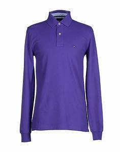 Tommy hilfiger Polo Shirt in Purple for Men | Lyst