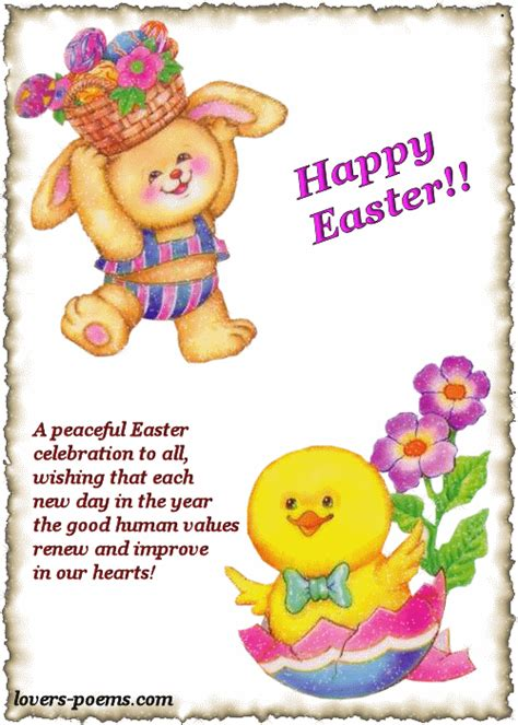 happy easter poem pictures   images