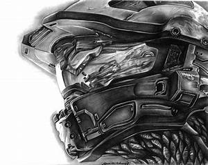 Master Chief Halo 4 Helmet by darkenedhearte on DeviantArt