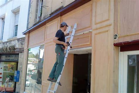 cuisines bois massif façade magasin ebénisterie armellin ebéniste gironde