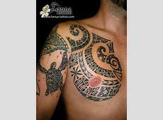Tatouage Maorie Epaule Pec Tattoo Art