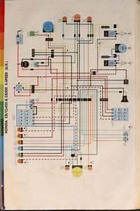 Honda Cb500 Wiring Schematic  5-speed  Uk