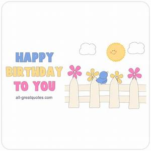 Birthday Cards To Post On Facebook Free – gangcraft.net