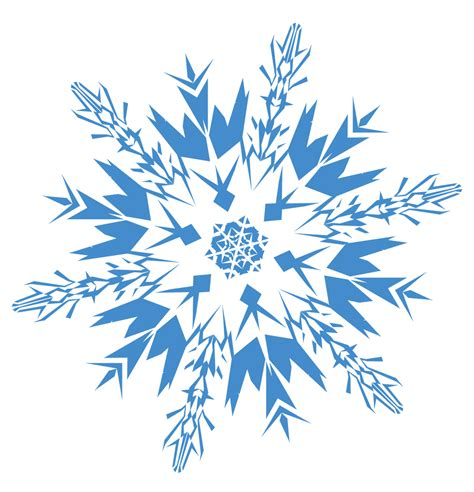 Blue Snowflake Background Clipart by Snowflake Blue Transparent Png Stickpng