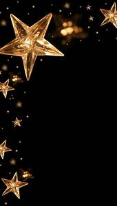 GOLD STARS ON BLACK | BACKGROUNDS / WALLPAPERS | Pinterest ...