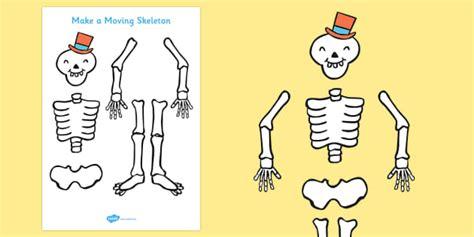 Funny Bone Funny Bones Make A Moving Skeleton A4 Funny Bones