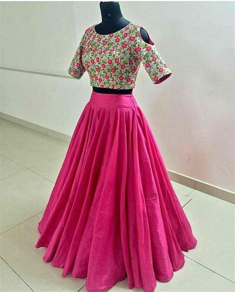 crop top  skirts images  pinterest indian