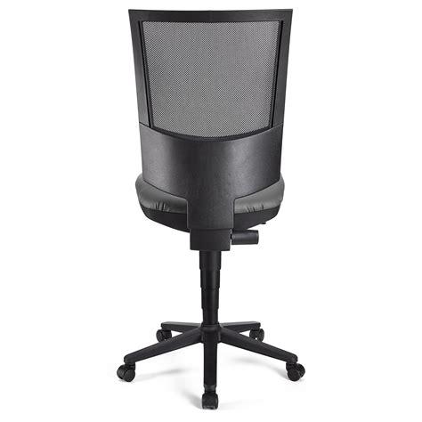 senza in ufficio sedia da ufficio pandora senza braccioli pelle schienale