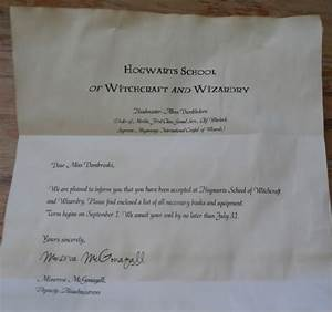 purple sage creations diy harry potter party ideas plus With harry potter hogwarts acceptance letter