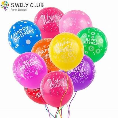 Balloons Birthday Happy Balloon Decoration Ballons Colorful