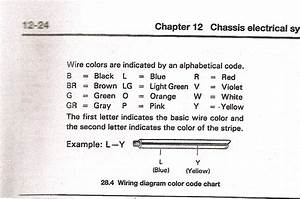 Toyota  Rear Window  Wiring Schematic  Color Code   4  A