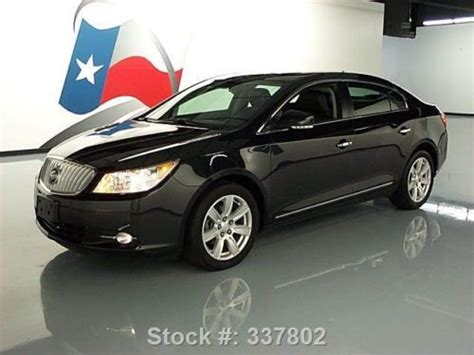 2012 Buick Lacrosse Premium 2 by Sell Used 2012 Buick Lacrosse Premium 2 Pano Roof Rear