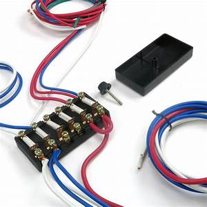 Dune Buggy Universal Wiring Harness W   Fuse Box Fits Empi