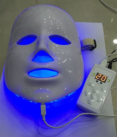led light therapy mask aliexpress com buy 7 colors photon pdt led skin care
