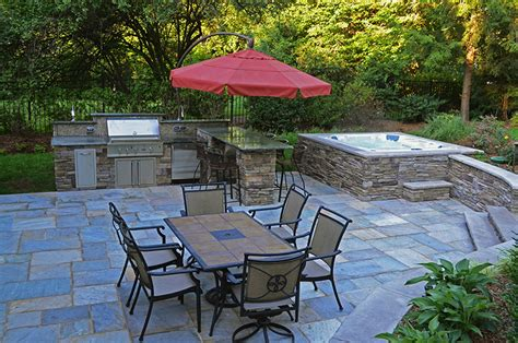 nj landscaping and pool designs for small backyards nj