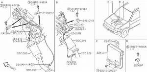 Nissan Pathfinder Oxygen Sensor  Rear