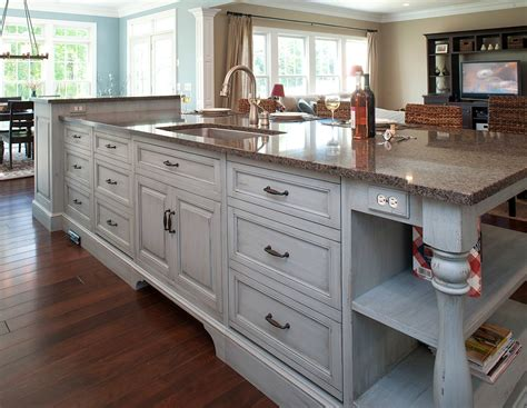 Kitchen Island With Drawers - new kitchen island with sink that save your space effectively ruchi designs