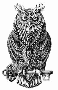 Great Horned Owl Art Print by BIOWORKZ   Society6