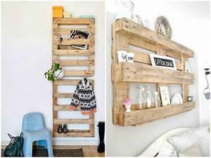 creations palettes recup et ecolo pallets crates and With idee deco cuisine avec objet deco chrome