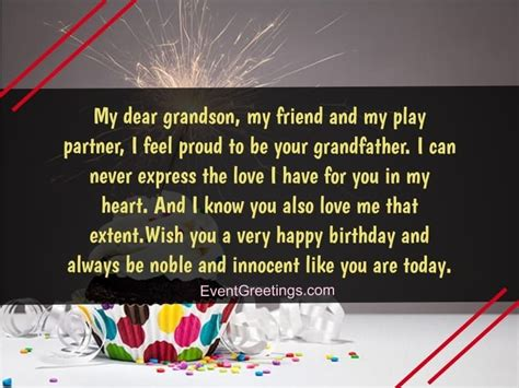 special birthday wishes  grandson  blessings