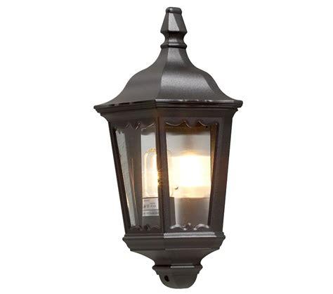 konstsmide firenze 1 light outdoor flush wall light matt