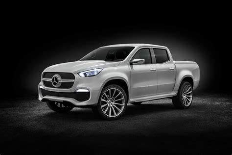 mercedes benz previews  class pickup truck   concepts
