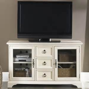 Glideaway Bed Frames by Beacon Entertainment White Tv Console 54 Inch White