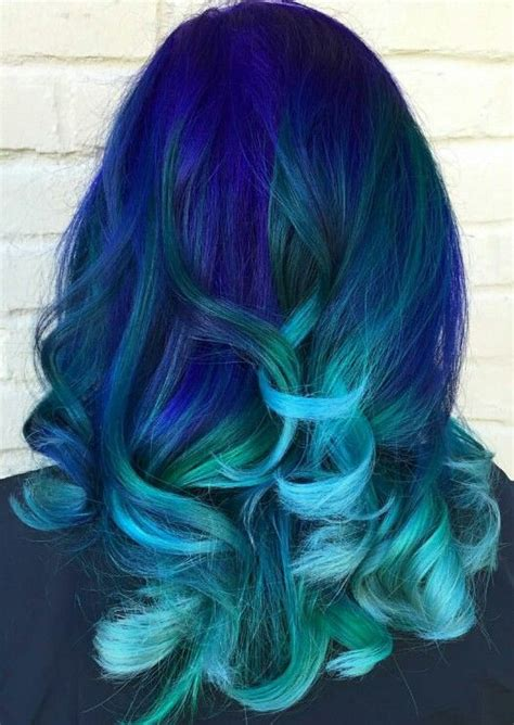 1000 Ideas About Blue Ombre Hair On Pinterest Ombre