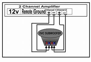 4 Ohm Dvc Subs Wiring Diagram Dvc 1 Ohm Wire Diagram