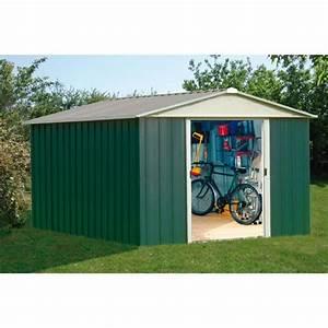Amazon Abri De Jardin Metal : yardmaster abri de jardin en m tal 12m vert et alu ~ Edinachiropracticcenter.com Idées de Décoration