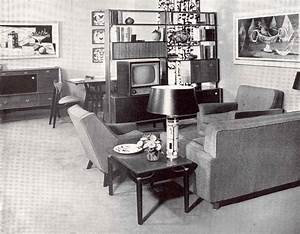 miss retro39s blog my dreams of a 1950s living room With 50s living room furniture