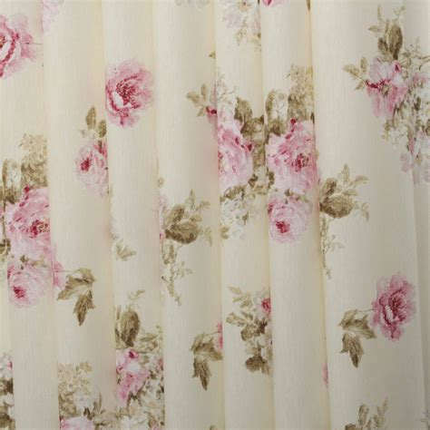 Curtain And Upholstery Fabrics vintage chintz shabby roses print retro 100 cotton