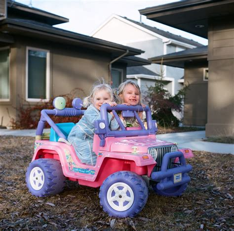 power wheels jeep 90s cruisin in the barbie jeep jon ball