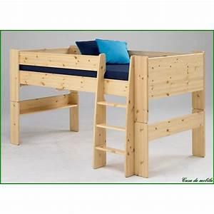 Hochbett Holz Kinder : hochbett kinderbett etagenbett stockbett bett jugendbett ~ Michelbontemps.com Haus und Dekorationen