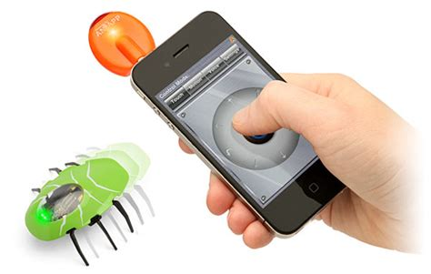 smartphone controlled toys smartphone controlled insectoids style guide
