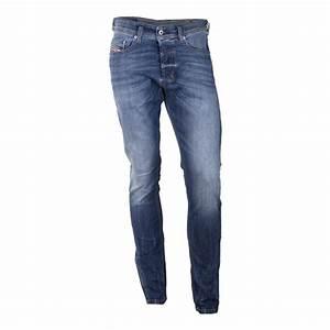 Jean Diesel Homme Slim : jean bleu d lav slim carrot tepphar 0859 stretch homme ~ Melissatoandfro.com Idées de Décoration