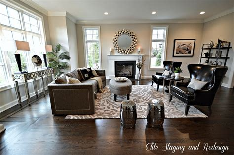 staging luxury  construction beforeafter