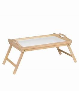 Plateau Petit Déjeuner Au Lit : plateau petit d jeuner au lit en bois pliable ~ Teatrodelosmanantiales.com Idées de Décoration