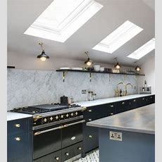 Kitchen Ceiling Lighting  Factorylux For North London Project