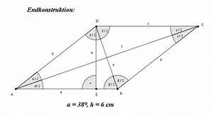 Raute Diagonale Berechnen : viereckskonstruktion lernpfad ~ Themetempest.com Abrechnung