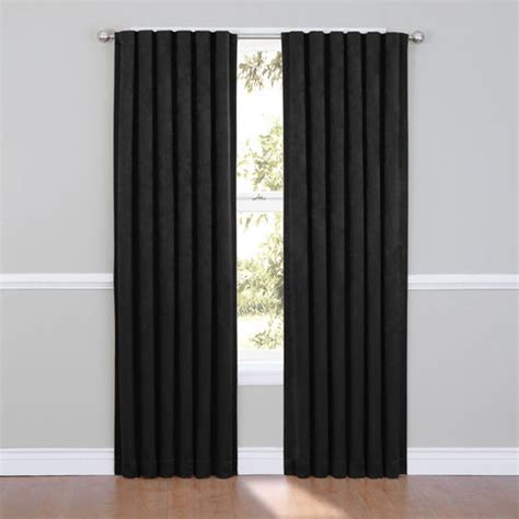 ellery homestyles blackout curtains eclipse ella blackout window curtain panel at brookstone