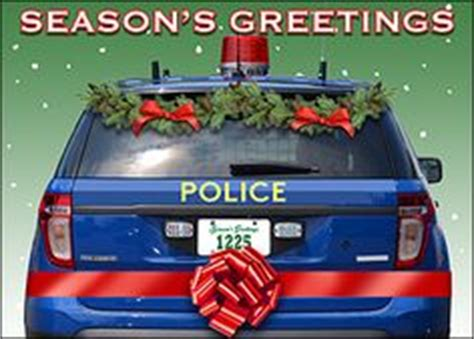police cards images business christmas cards