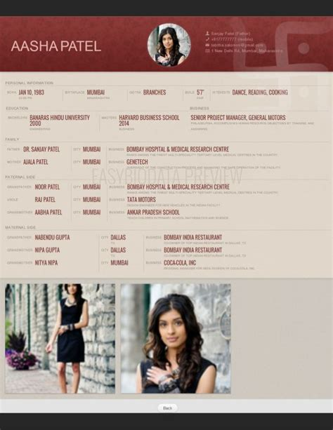 Marriage Resume Sles In India by 26 Best Images About Biodata For Marriage Sles On