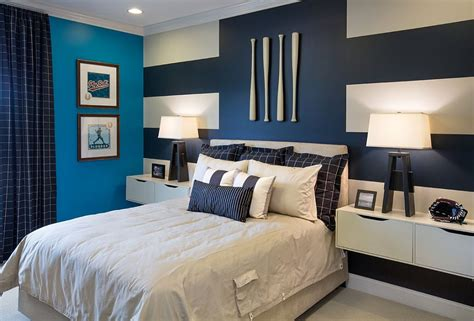 tapisserie chambre à coucher adulte 20 trendy bedrooms with striped accent walls